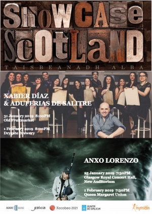 XABIER DÍAZ Y ANZO LORENXO EN CELTIC CONNECTIONS 2019