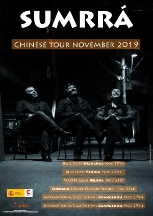 EL TRIO GALLEGO DE JAZZ MÁS INTERNACIONAL, REGRESA A ASIA. NUEVA GIRA EN CHINA DE SUMRRÁ
